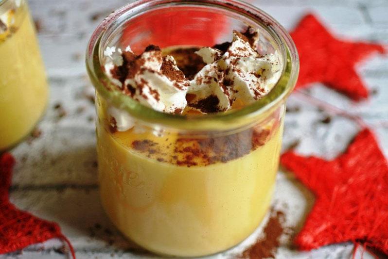 Orangen-Mousse - vegetarisch (auch für Thermomix)