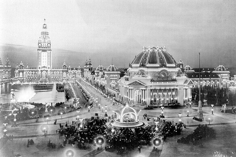 Uno scatto dall'Expo, Parigi 1900