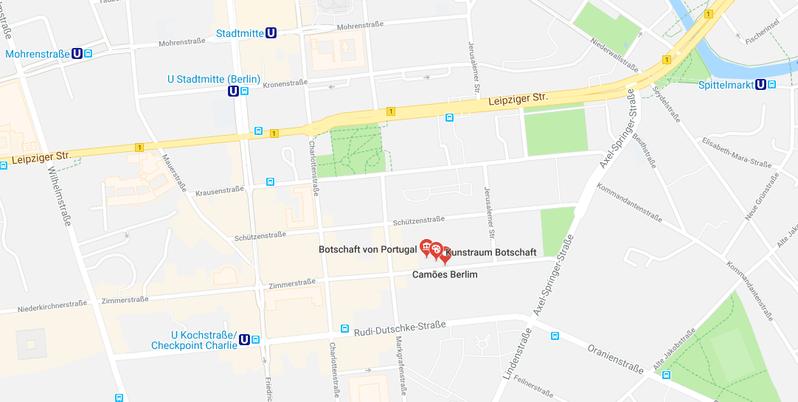 Kunstraum der Portugiesischen Botschaft in Berlin