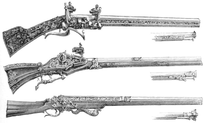 Schießwaffen. Einige Worte über den Gebrauch und die Behandlung der Büchsen und Flinten