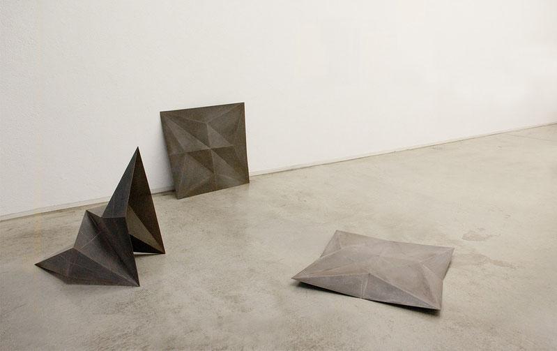 Installation view - Paper crane - Masami Hirohata