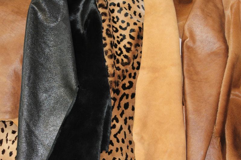 pelli di canguro stampato, canguro cuoio nappa, canguro cuoio suede, cangurocuoio  brillante