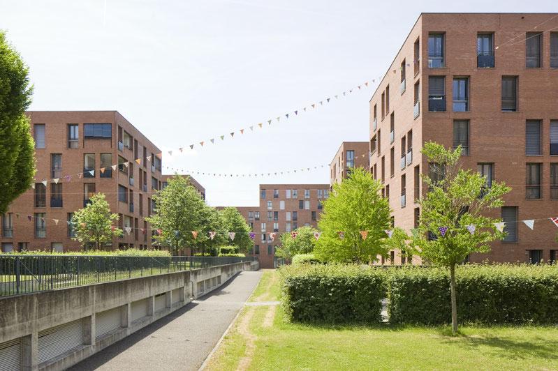 Wohnüberbauung Ruggächern Zürich, Baumschlager Eberle Architekten
