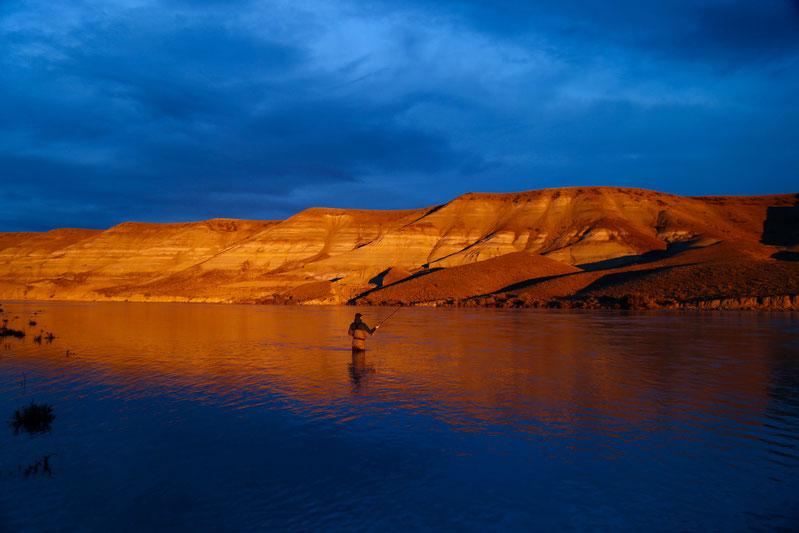 Gigantischer Sonnenuntergang am Elephants-Pool - Foto: Claudio Martin