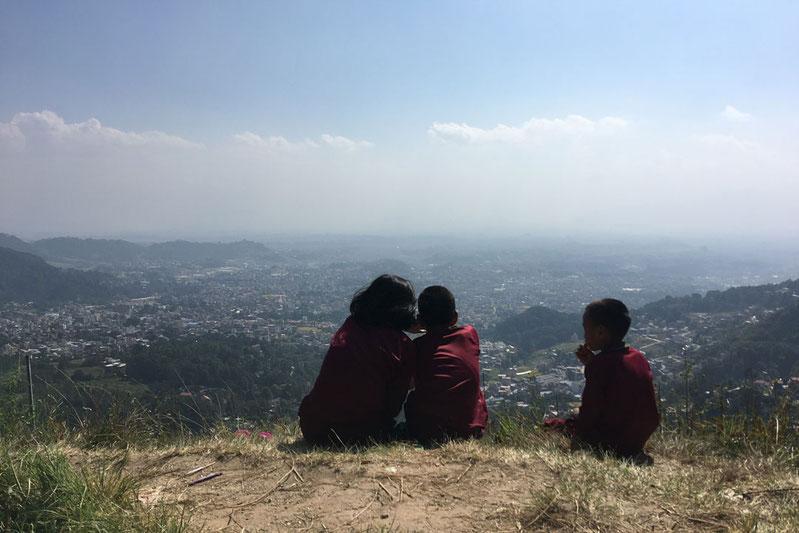 Blick ins Kathmandutal