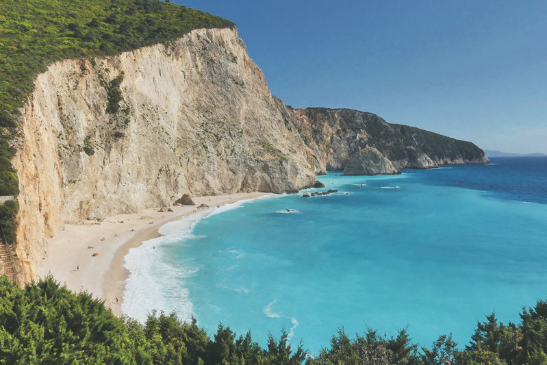 bigousteppes plages leucade île grèce balkans
