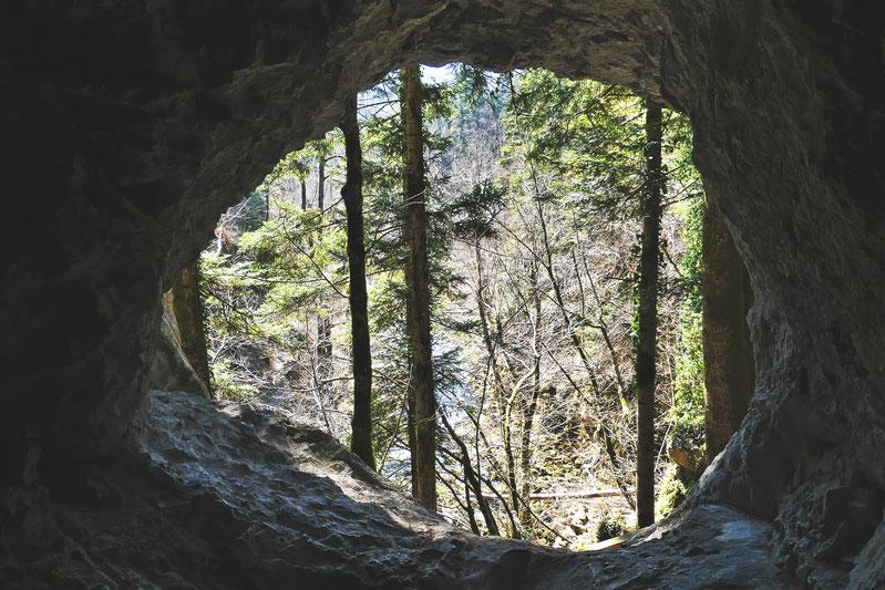 bigousteppes slovénie randonnée grotte forêt