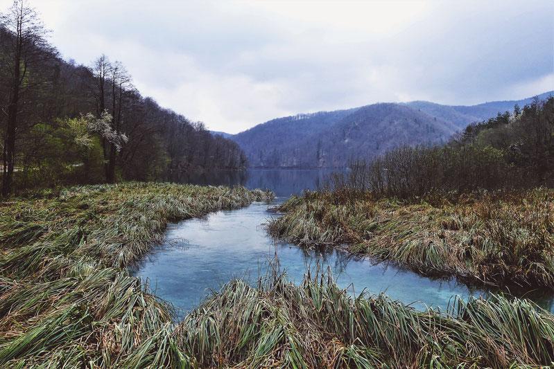bigousteppes plitvice croatie parc lac