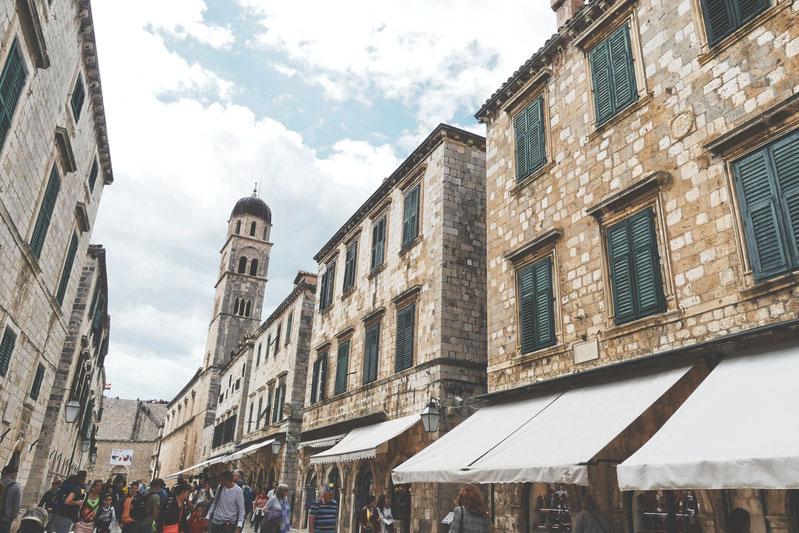 bigousteppes croatie dubrovnik adriatique ville