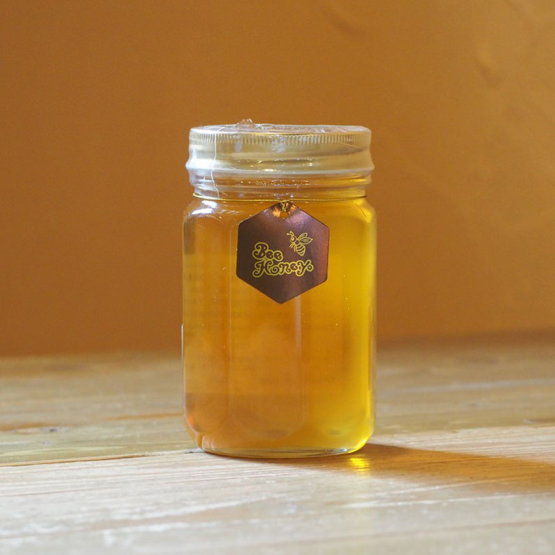 野山の花々の蜜が絶妙にブレンドされたやわらかい薫りとやさしい甘みの蜂蜜,【福岡産純粋蜂蜜】国光養蜂場ヤマハゼ/クロガネモチはちみつ500g,Bee Honey,はちみつオンライン通販ビーハニー