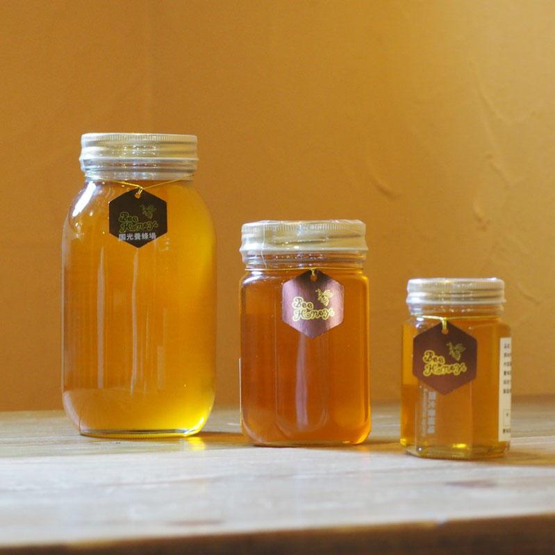 野山の花々の蜜が絶妙にブレンドされたやわらかい薫りとやさしい甘みの蜂蜜,【福岡産純粋蜂蜜】国光養蜂場ヤマハゼ/クロガネモチはちみつ200g,Bee Honey,はちみつオンライン通販ビーハニー
