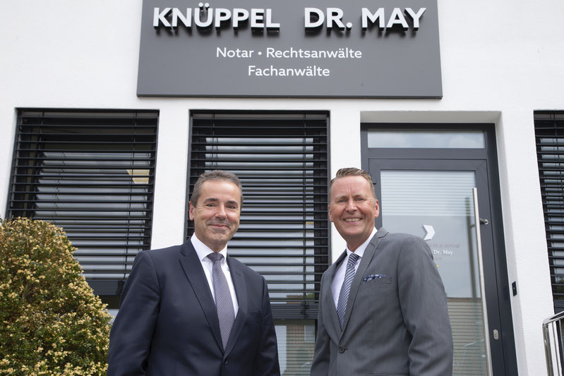 RA und Notar Gerald Knüppel, RA Dr. Olaf May