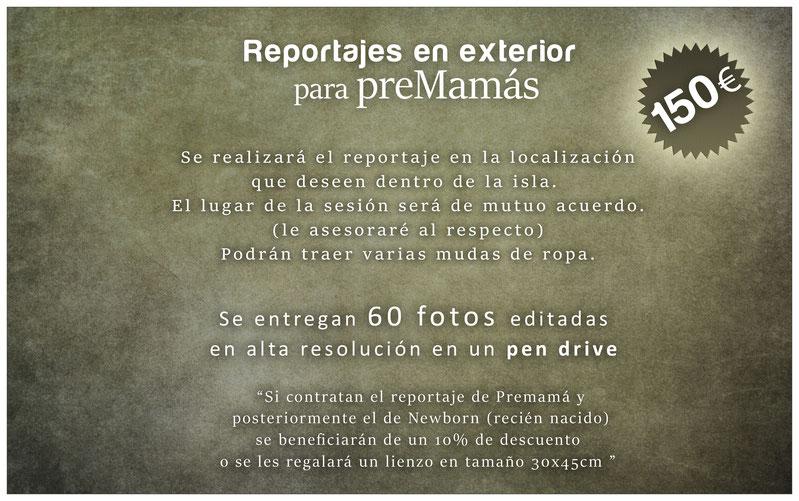 ESTUDIO FOTOGRÁFICO EN TENERIFE para embarazadas