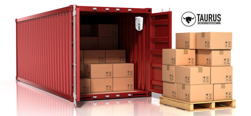 Containerschloss, Containerverriegelung, Containersicherung,