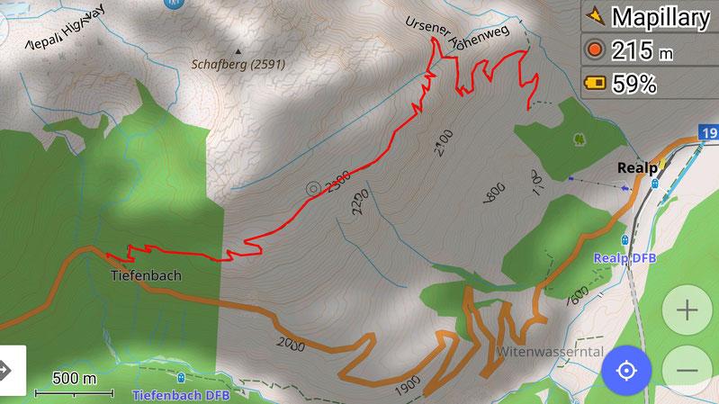 Legal offroad in der Schweiz Alpen overland Wolf78 Karte Hilux 4x4
