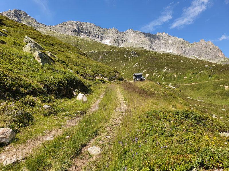 Legal offroad in der Schweiz Alpen overland Wolf78 Karte Hilux Revo #Projektblackwolf EXKAB 4x4