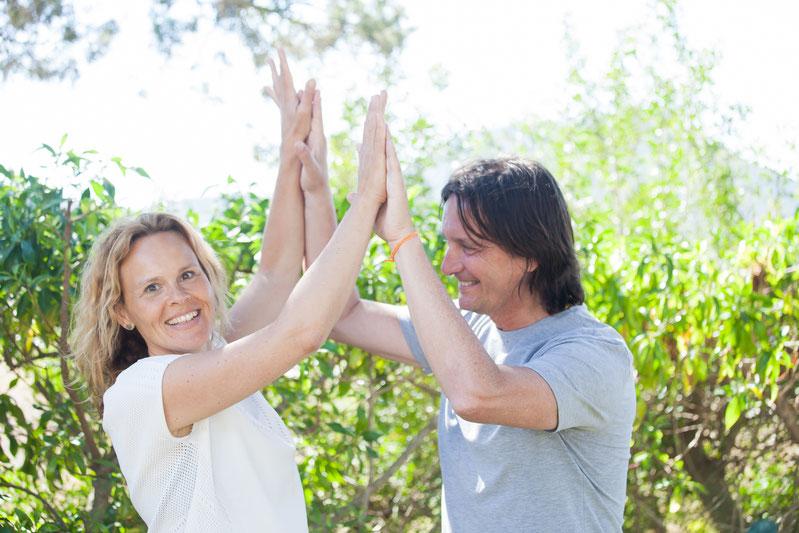 Sandra Schönmann und Marco Cazzaniga