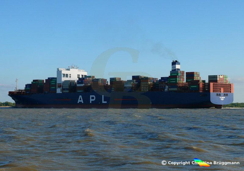 Containerschiff APL SINGAPURA