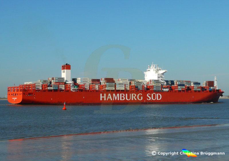 Hamburg-Süd Containerschiff CAP SAN VINCENT