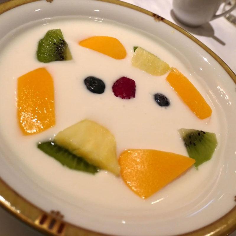 画像: 帝国ホテル レセゾンのフルーツヨーグルト