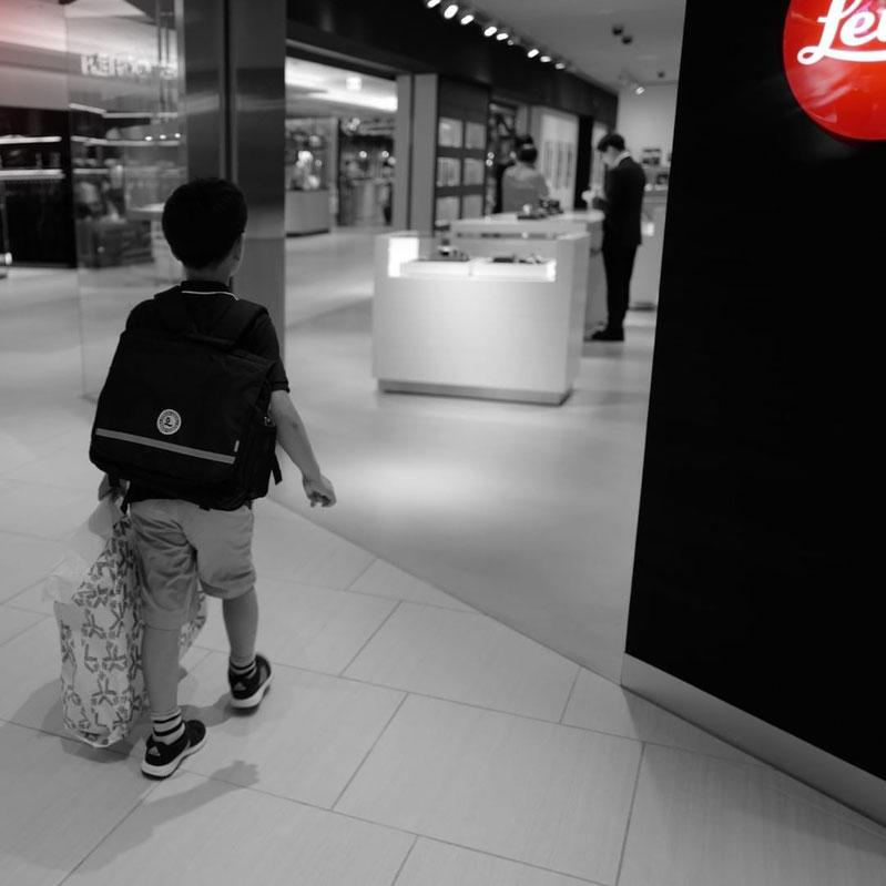 画像: Leica Ginza Six 入り口の様子