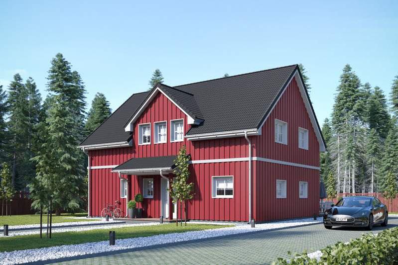 Schwedenhaus bauen, Holzhaus Stockholm, Schwedenhaus welche Firma? Was kostet ein Schwedenhaus? Wer baut Schwedenhäuser in Deutschland?