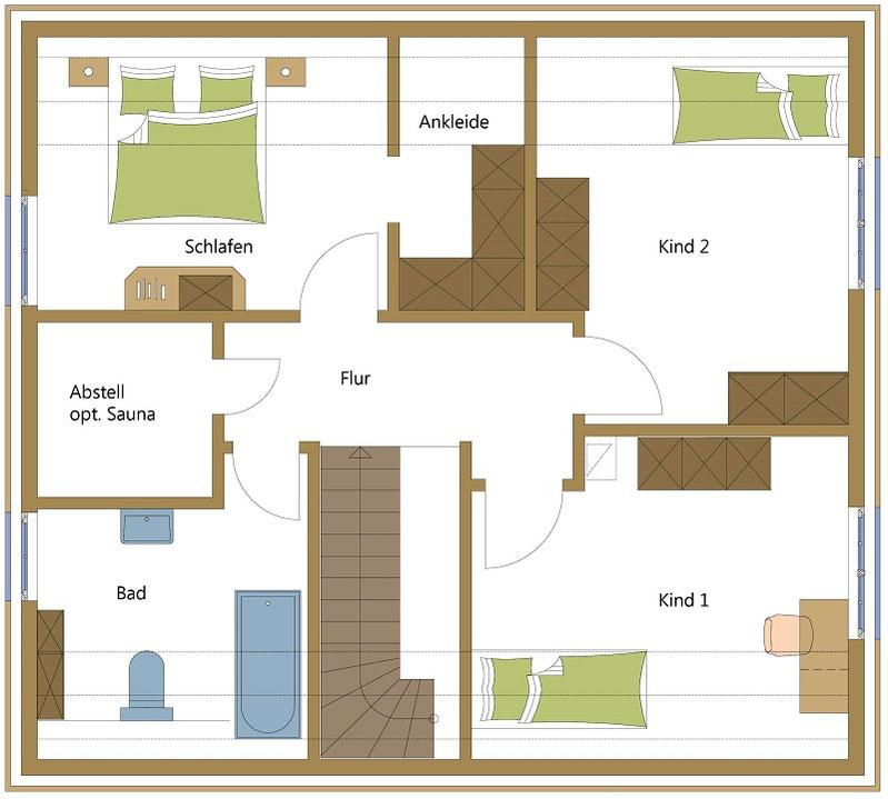 Holzhäuser, Schwedenhäuser typisch schwedisch