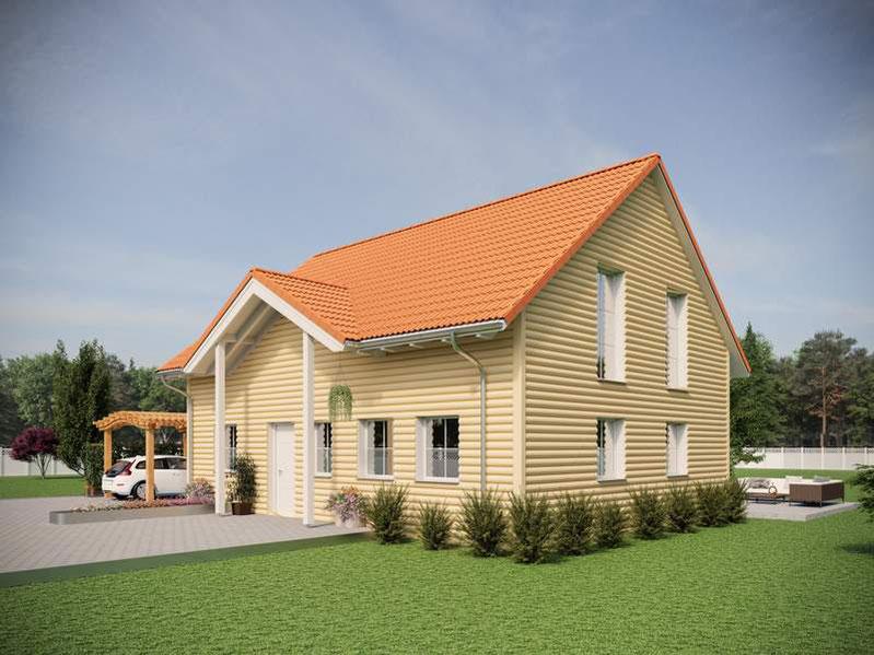 Schwedenhäuser, Holzhäuser mit viel Platz, Schwedenhäuser günstig bauen,