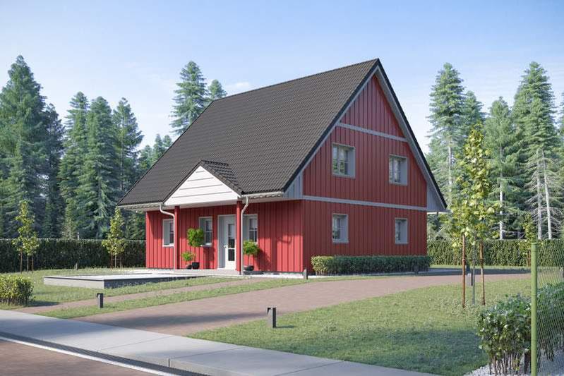 Holzhäuser, Schwedenhäuser wie aus Schweden