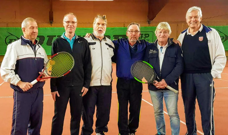 von links : Reihard Kutscher, Jörg Kirschner, Günter Fleischer, Wolfgang Paul, Herbert Schulze, Gerardo  Baumbach