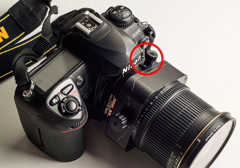 Einschränkungen beim Verstellen von NIKON PC-E Objektive an DX Kameras. Copyright 2020 by bonnescape.