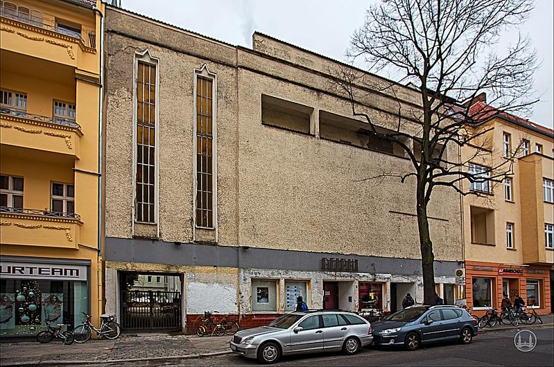 Berlin Weißensee Delphi Fassade