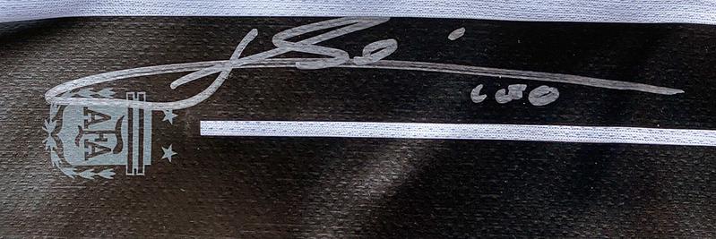 Autograph Lionel Messi Autogramm
