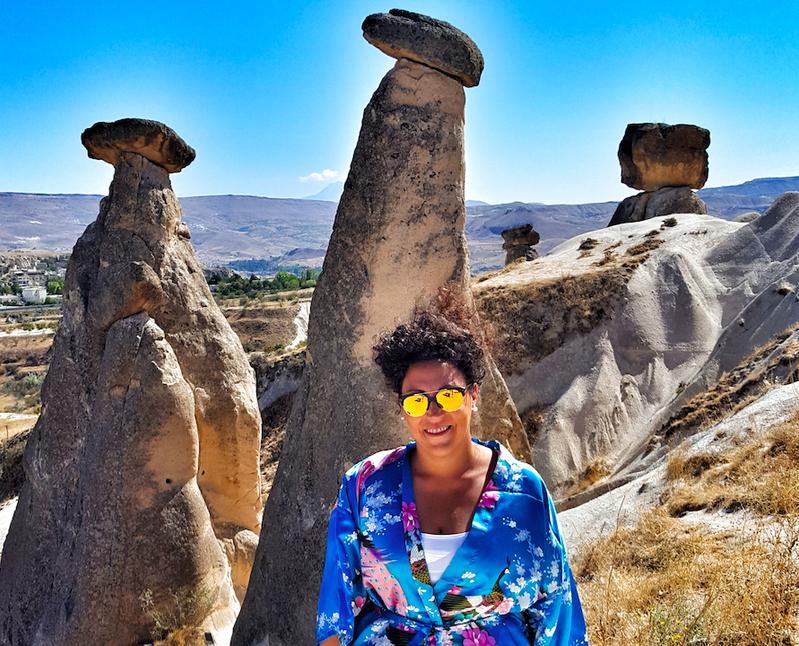 Le tre bellezze di Ürgüp, Cappadocia - Turchia