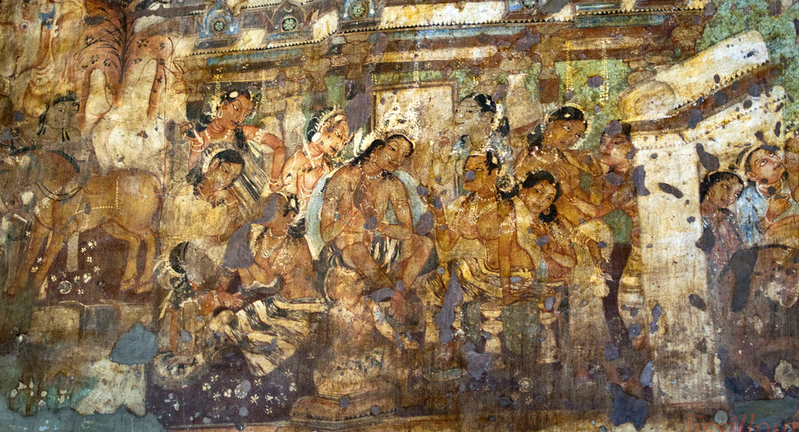 painting-of-Ajanta-cave