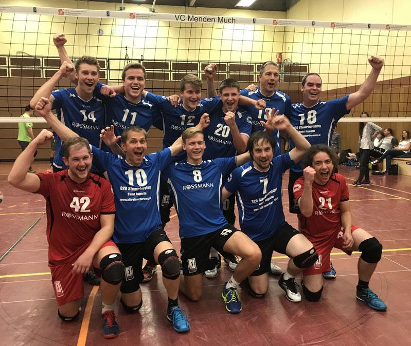 Herren II Landesliga 2017/2018 (1. Platz, Aufstieg in die Verbandsliga)