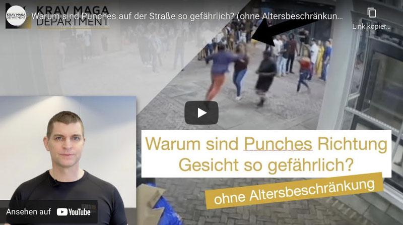 Thumbnail von einem YouTube Video. Warum sind Punches so gefährlich?