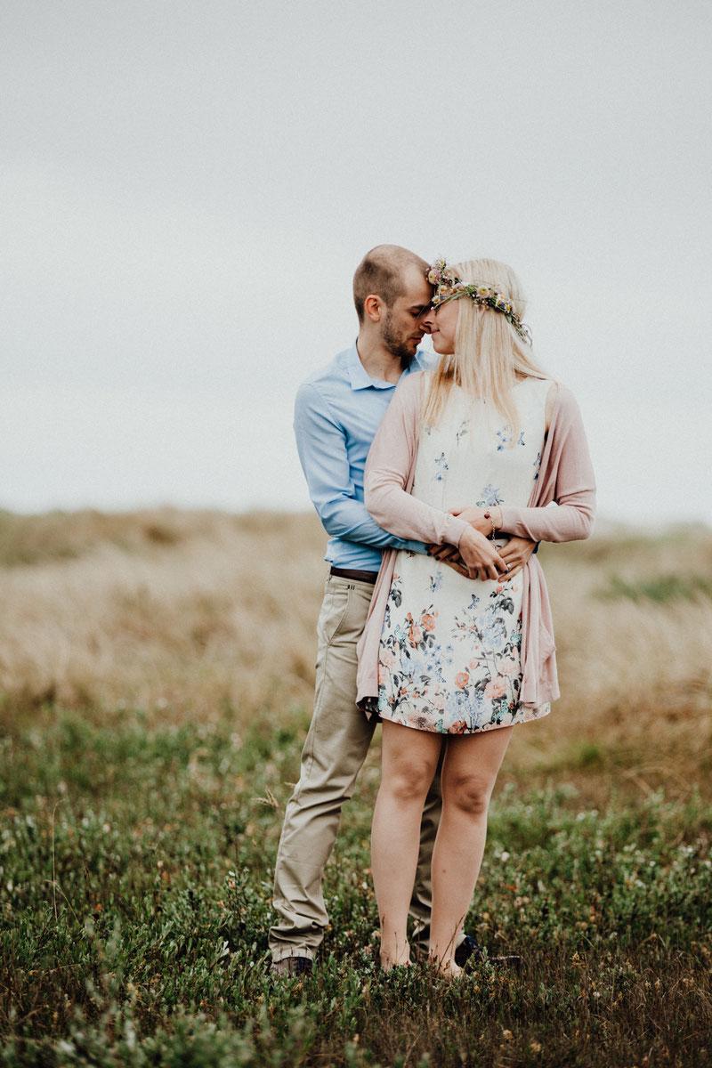 Hochzeitsshooting am Strand von Sankt Peter Ording oder Sylt, Hochzeitsfotograf in Nordfriesland