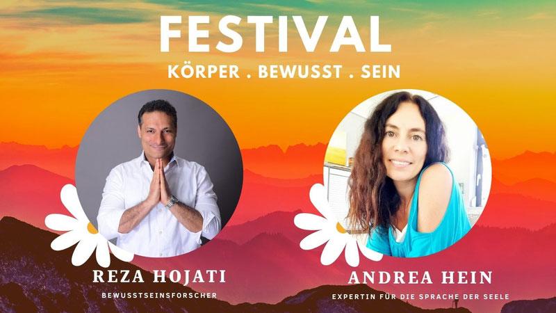 Festival für Körper . Bewusst . Sein 2021 Andrea Hein