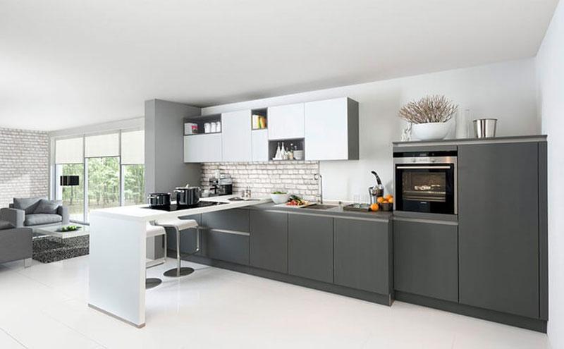 Nolte Keukens Rotterdam - Glas Tec Satin