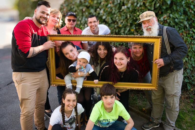Familie Spies anlässlich der silbernen Hochzeit im März 2015