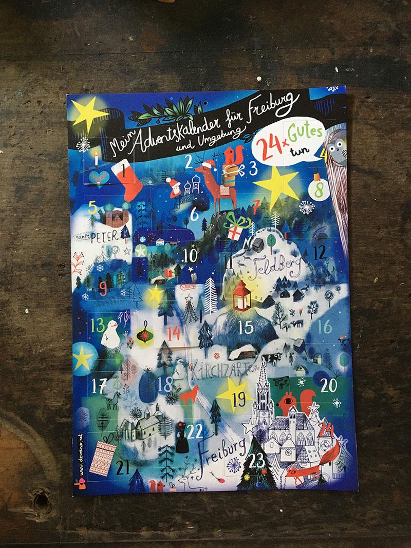 Adventskalender#Freiburg#Nonprofitorgatination