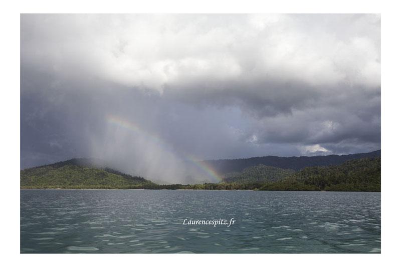 • Palawan Island • Rainbow.
