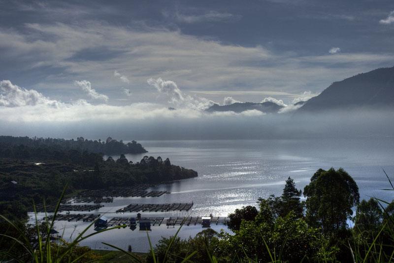 Lac Batur HDR Indonésie