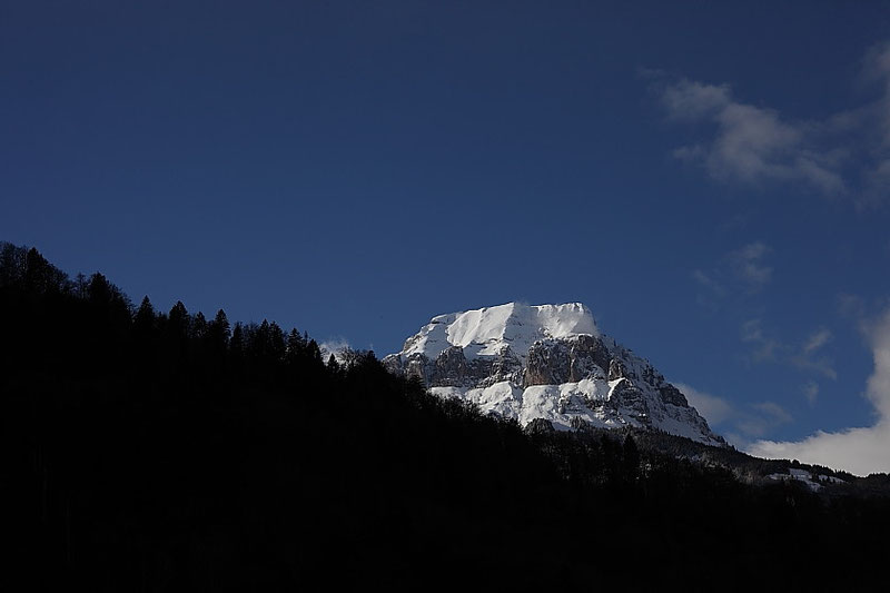 Le Mont glacé.