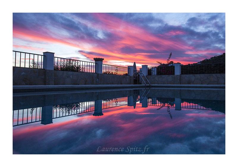 • Bain de soleil • Torrox Espagne