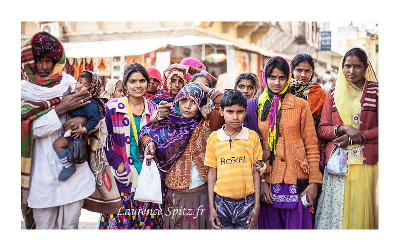 • Portrait de famille • Pushkar