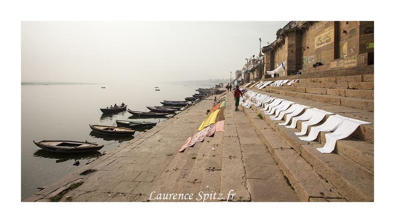 • Point de fuite • Benares les Ghats