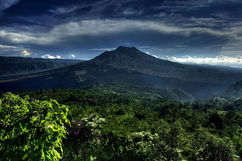 Mont Batur HDR Indonésie