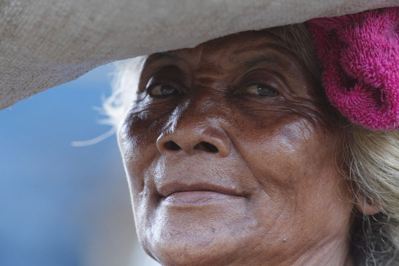 Portrait de femme Balinaise.